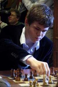 Magnus Carlsen - photo by Macauley Peterson, 03.10.2007